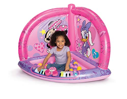 Minnie Mouse Kids Ball Pit with 50 Balls and Music Feature