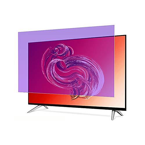 HOUSHIYU-521 60 in Anti-Blaulicht-TV-Displayschutz, Premium-PET-Material, Schädliches Blaues Licht Herausfiltern, Sehkraft Schützen, 132,7 x 74,9 cm / 133,8 x 75,6 cm,133.8x75.6cm