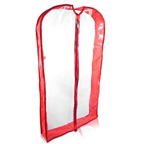 garment bag red - 5