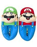 Super Mario Bros Mario and Luigi 3D Kid's Slippers