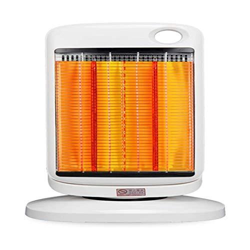 Calentador eléctrico for el hogar y el calentador de espacio portátil de oficina, calentador eléctrico de 900 vatios, calentador de calefacción rápido con termostato ajustable, con protección contra s
