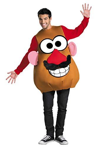 Disguise Mr./Mrs. Potato Head Deluxe Adult,Multi,XL (42-46) Costume