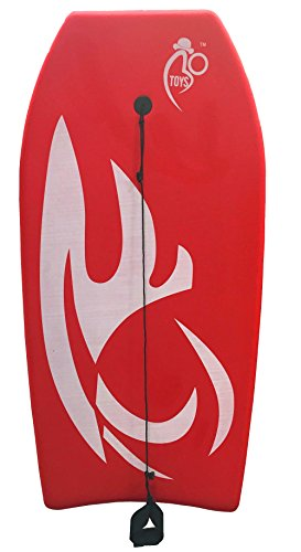 Bo-Toys Body Board Lightweight with EPS Core (RED, 41-INCH)