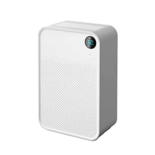 Deumidificatori con serbatoio dell'acqua removibile, rimuove l'umidità, 680 ml al giorno, mini deumidificatore elettrico con pannello di controllo digitale, modalità sospensione, risparmio energetico