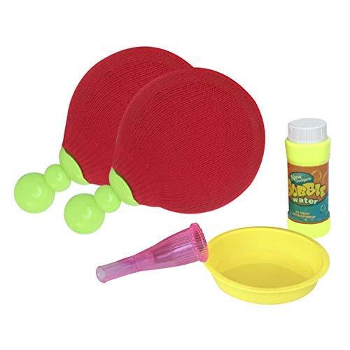 Juguete de ping pong de mesa, Magic Bubble tenis de mesa, juguete seguro y divertido para niños, regalo de cumpleaños, juego de exterior no roto