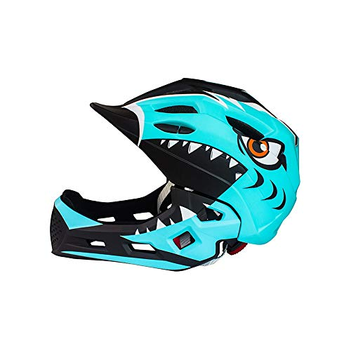 L.J.JZDY Fahrradhelm Balance Autohelm for Kinder Fahrradhelm Skateboardhelm Sportschutzausrüstung Integralhelm Sicherheitshelm (Color : Mint Green, Size : Kostenlos)