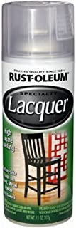 Rust-Oleum 1906830 Lacquer Spray, 11-Ounce, Gloss Clear