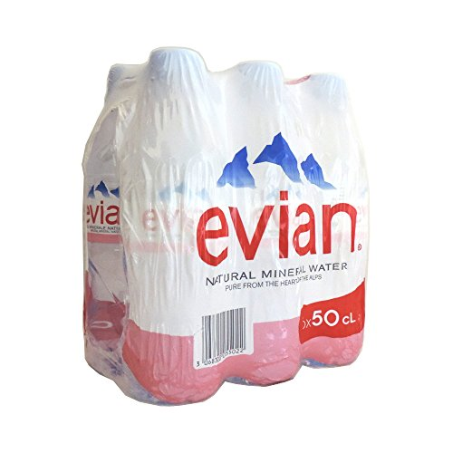 Noch Evian Mineralwasser 6 x 500ml