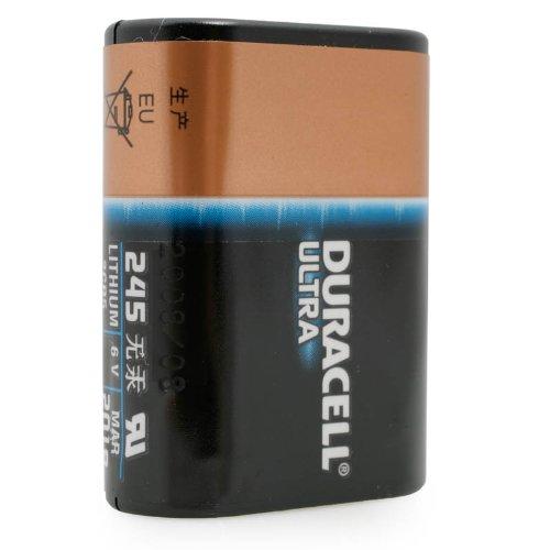 Pile Duracell Ultra DL245 pour appareil photo - 2CH5