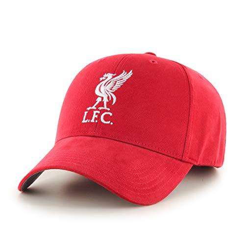 Liverpool FC Home - Gorra para niños (5-10 años), color rojo