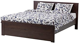 IKEA Full Size Bed Frame, Brown 162020.1125.234