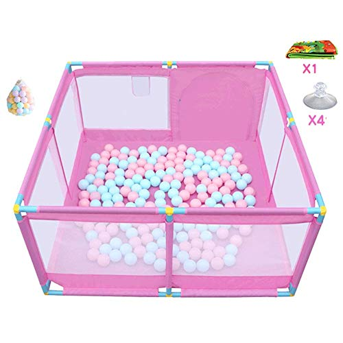 Read About Q.AWB Children playpen Baby Playpen Game Crawl Toddler Floor Mat Plastic Ball Oxford Clot...