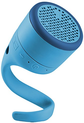BOOM by Polk SWIMMER JR Bluetooth-Lautsprecher (Wasserdicht, IPX7) Blau
