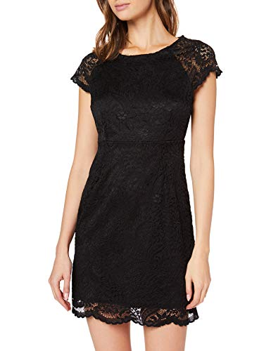 ONLY Damen onlSHIRA LACE Dress NOOS WVN Kleid, Schwarz (Black Black), 38