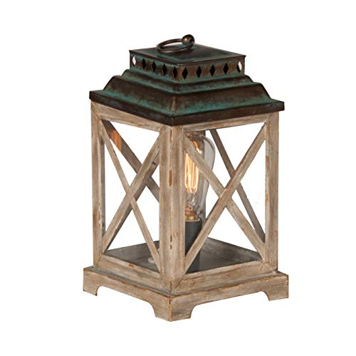 Scentsationals Edison Anchorage Lantern Wax Warmer 40w Bulb Air Freshener - Full Size Scented Electric Candle Warmer 120V - Fragrance Plugin Home Decor Wickless Replacement