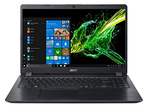 "Acer Aspire 5 A515-52G-73FJ Notebook con Processore Intel Core i7-8565U, RAM da 16 GB DDR4, 256 GB PCIe NVMe SSD, Display 15.6"" FHD LED LCD, Scheda Grafica NVIDIA GeForce MX130, Windows 10 Home, Nero"