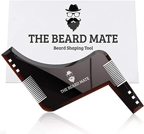 Beard Shaping Tool Template. Beard Shaper Tool Plus Comb for line up &...