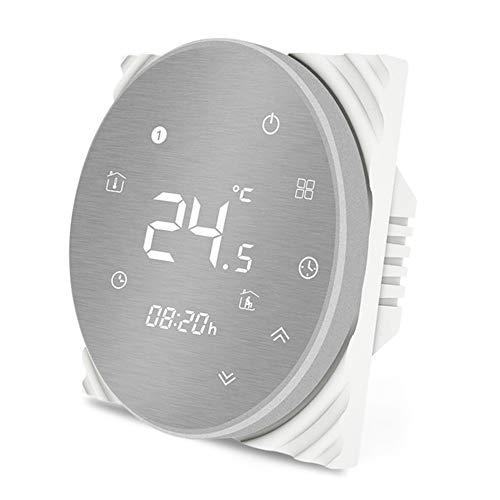 Bayla Smart Life Smart Thermostaat, draadloze thermostaat, temperatuurregelaar, Smart Life app, afstandsbediening voor water- en vloerverwarming, temperatuur programmeerbaar, werkt en Alexa Google Assistent