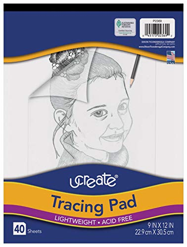 Pacon UCreate Tracing Pad, White, 9