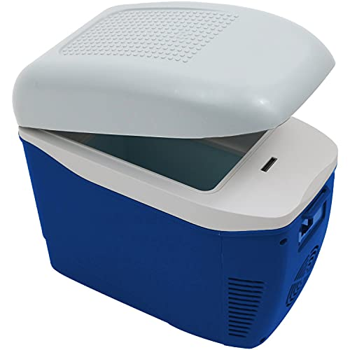 Oypla 7.5L 12V DC Car Cooler Coolbox Hot Cold Portable Electric Cool Box