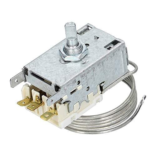 LUTH Premium Profi Parts - Termostato regolatore di temperatura per Frigorifero/Congelatore | Compatibile con Ranco K59H1300 Liebherr 6151086 Miele 1513060 1513061