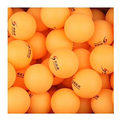 Amaoma 50 Piezas Pelotas de Ping Pong Naranja Tenis de Mesa Bolas de Lotería Ping Pong Cerveza Bolas Entrenamiento en Series, Torneo de Tenis de Mesa, Juegos para Adultos y Niños