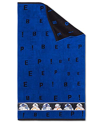 Blue Bath Towel Star Wars