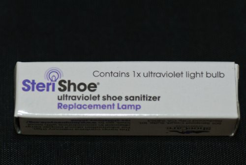 Replacement Lamp for The Original SteriShoe® Shoe Sanitizer (not The SteriShoe+)