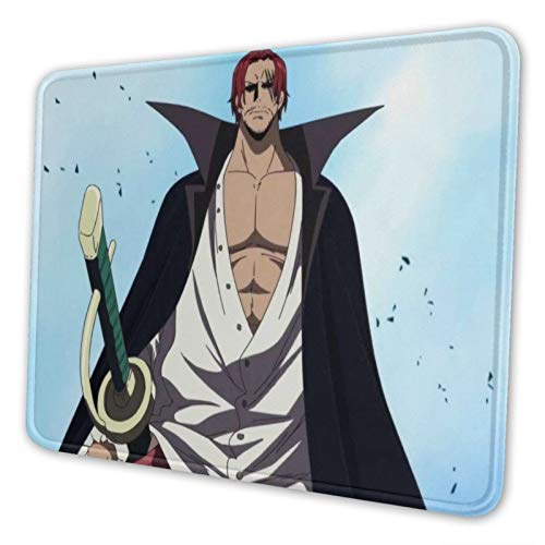 Mouse Pad For Laptop 8.3 X 10.3 In One_Piece Redhead Shanks Personalizeb Gaming Mouse Pads For Desk