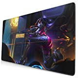Overwatch Widowmaker Mouse Pad Rectangle Non-Slip Rubber Electronic Sports Oversized Large Mousepad Gaming Dedicated,for Laptop Computer & PC 15.8X29.5 Inch