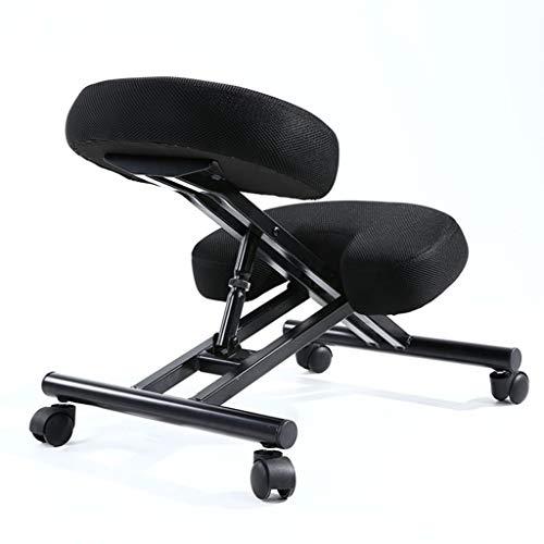 Kneeling stoel QIQIDEDIAN Ergonomische Hoogte Verstelbare bureaustoel Ergonomische Computer Stoel Bureau Stoelen Met Pulley QIQIDEDIAN