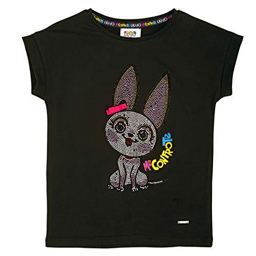 Liu Jo Me Contro Te 4B1303TX190 Tshirt Donna Nero 10A