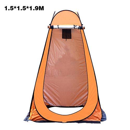 Tente de confidentialité escamotable avec sac de transport, légère et robuste, tente de douche extérieure portable instantanée, toilette de camp pliable, vestiaire, abri de pluie avec fenêtre
