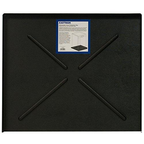 Eastman 70486 Dishwasher Pan, 24' x 20.5', Black
