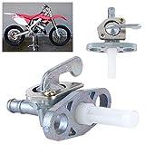 Válvula de combustible, llave de purga de combustible, válvula de tanque de gas para Honda CR 125R 1979-2007 compatible con Honda CR125R CR250R CR500R CR480R