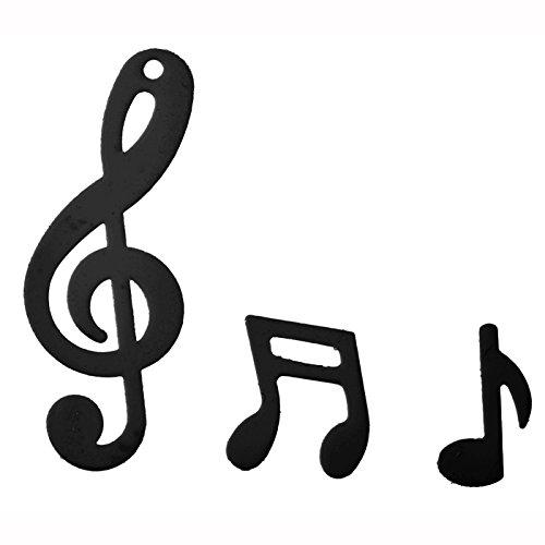 PARTY DISCOUNT NEU Konfetti Musiknoten, schwarz, 20 g