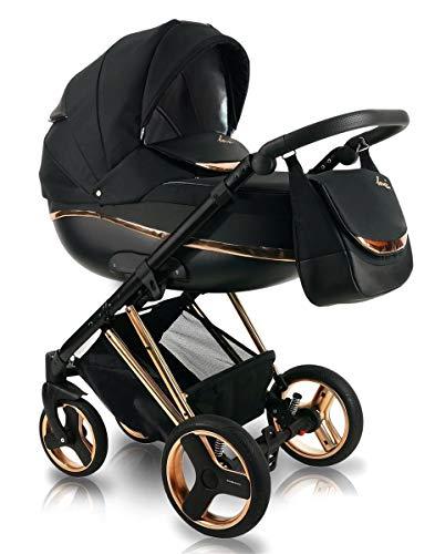 Poussette Combinée Trio landau 2en1 3en1 Isofix siège Auto Next || by SaintBaby Gold N1 4en1 avec Isofix