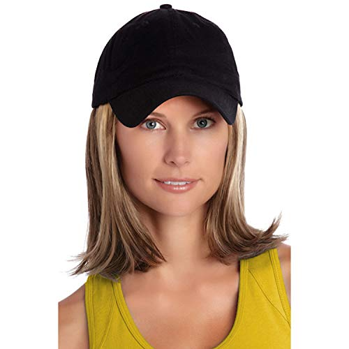 Henry Margu (Classic Hat Black) - Synthetic Baseball Cap Wig in 14H