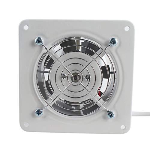 JJZXT Extractor de ventilación Industrial Extractor axial de Metal Ventilador de Aire Comercial Ventilador de bajo Ruido Funcionamiento Estable