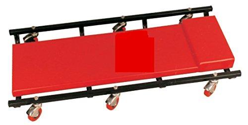 Rollbrett mit Metallrahmen Werkstattliege KFZ - Montageliege mit Lenkrollen 360°