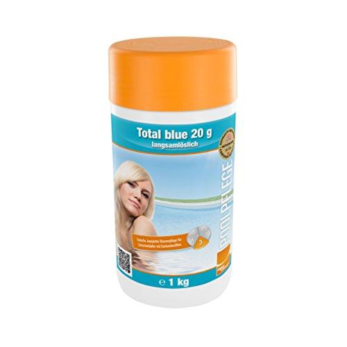 Steinbach Poolchemie Total blue, 20g langsamlöslich, 1 kg, Desinfektion, 0752301TD08