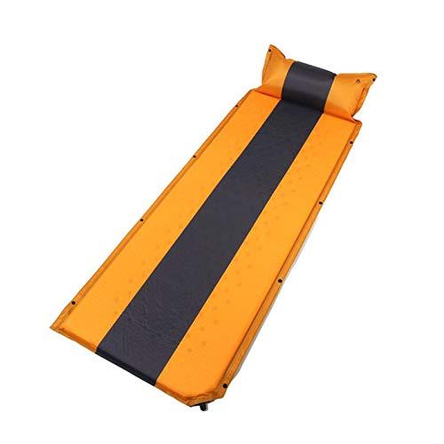 Cama Individual Inflable Almohadilla de Aire Cama Inflable El cojín Inflable automático se Puede empalmar Tienda de campaña a Prueba de Humedad 188 * 64 cm Sábana de colchón de Aire portátil
