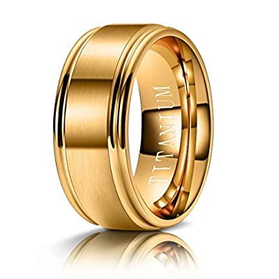 Amazon - Save 80%: M MOOHAM Titanium Rings 4MM 6MM 8MM 10MM Wedding Bands M…
