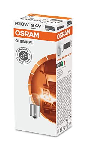 Osram 5637 ORIGINAL R10W, Kennzeichenbeleuchtung, 24V, 1 Lampe, Anzahl 10