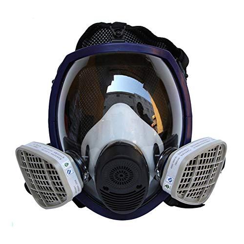 Gasmasker Automatische Filtermasker, Oog- En Adembescherming Voor Het Schilderen, Stof, Mechanisch Polijsten, Lassen, Met Inbegrip Van Filter, Filter Katoen En Filterdeksel