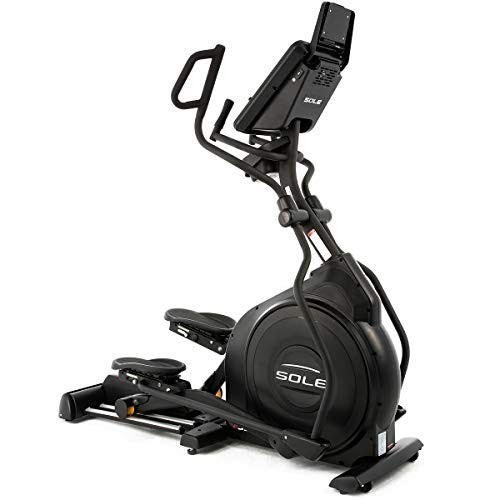 SOLE Fitness E55 Elliptical Machines With Power Incline