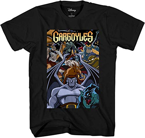 Disney Gargoyles Comic Cover Officially Licensed Adult T Shirt