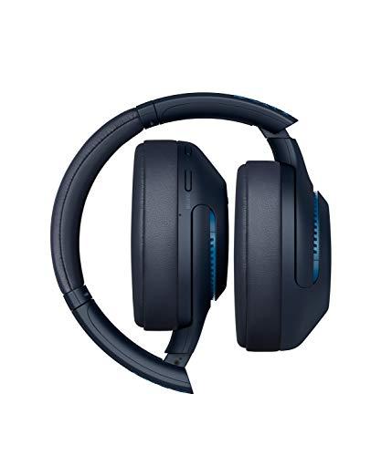 Sony WH-XB900N Bluetooth Noise Cancelling Kopfhörer (Extra Bass, 30h Akku, Alexa & Google Assistant) blau & TP-Link UB400 Nano USB Bluetooth 4.0 Adapter Dongle (für PC Laptop Desktop Computer)