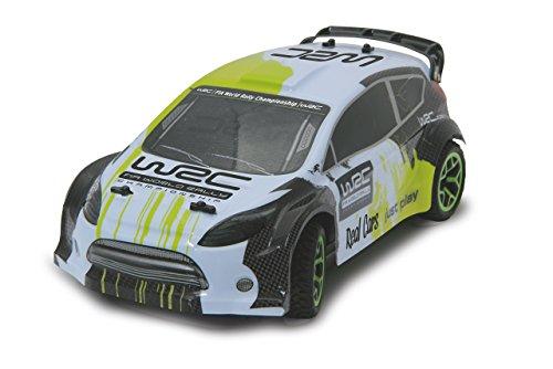 RC Auto kaufen Rally Car Bild 4: Jamara 405117 Rally Car WRC 1 18 4WD 2,4GHz voll proportionaler Fahrtenregler, Allradantrieb, gefedertes Fahrwerk vorn, Gummibereifung, Spur einstellbar, Rammschutz vorne*