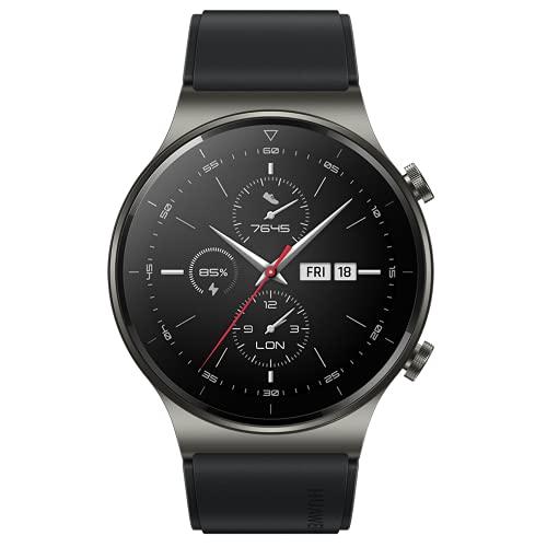 HUAWEI Watch GT 2 Pro - Smartwatch con Pantalla AMOLED de 1.39', hasta Dos semanas de batería, Negro, 46 mm
